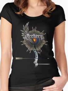 Archery Women's Fitted Scoop T-Shirt