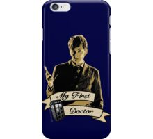My first Doctor (Who) Tenth 10th David Tennant iPhone Case/Skin
