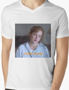 Dana Scully is So Done  Mens V-Neck T-Shirt