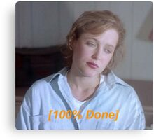 Dana Scully is So Done  Metal Print
