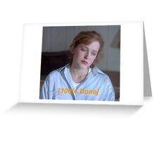 Dana Scully is So Done  Greeting Card