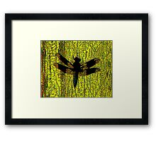 I Love Dragonflies Framed Print