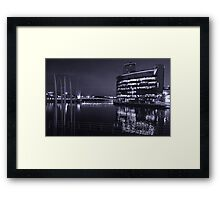 The Water at Night Framed Print
