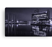 The Water at Night Canvas Print