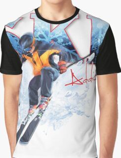 Ski Addiction Graphic T-Shirt
