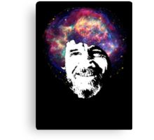 Bob Ross Shirt & Sticker  Canvas Print