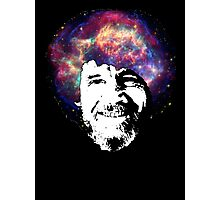 Bob Ross Shirt & Sticker  Photographic Print