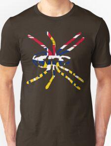 BRITISH COLUMBIA SPIDER FLAG  Unisex T-Shirt