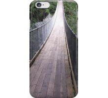 Picture of a suspension bridge iPhone Case/Skin