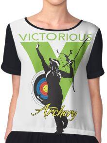 Victorious Archery Girl  Chiffon Top