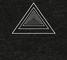 Inifinity Triangles Tri-blend T-Shirt