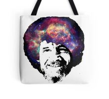 Bob Ross Shirt & Sticker  Tote Bag