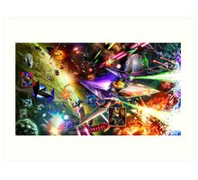 The Starfox Universe: In Flux Art Print
