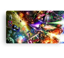 The Starfox Universe: In Flux Canvas Print