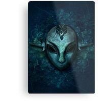 The Zora Mask Metal Print