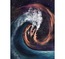 The Ocean and the Cosmos Photographic Print