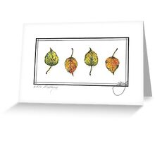 White Mulberry Greeting Card