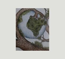 World cradled by Tree Unisex T-Shirt