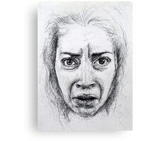 biro grimace Canvas Print