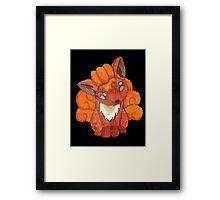 vulpix Framed Print