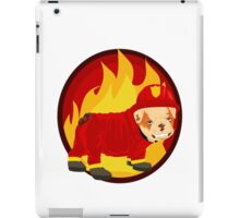 Buck I'm a fire dog iPad Case/Skin