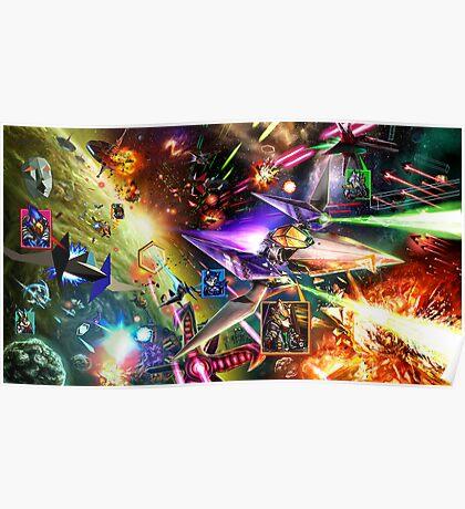 The Starfox Universe: At War Poster