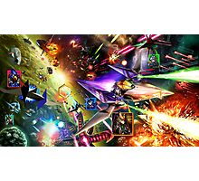 The Starfox Universe: At War Photographic Print