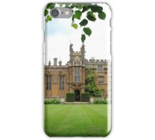 Through the trees to Knebworth house iPhone Case/Skin