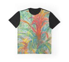 Bromeliad Pair (pastel) Graphic T-Shirt