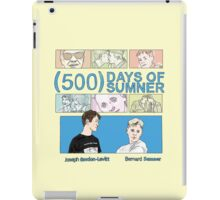 500 Days of Sumner iPad Case/Skin