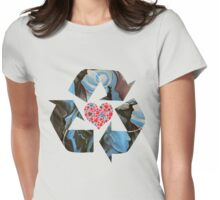 Recycle Love Womens Fitted T-Shirt