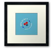 Mars 2030 - Helium-3 Our Last Hope Framed Print