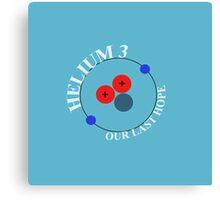 Mars 2030 - Helium-3 Our Last Hope Canvas Print
