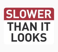 Slower than it looks Kids Tee