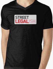 Street Legal(ish) Mens V-Neck T-Shirt
