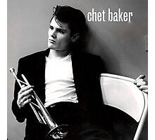 Chet Baker  Photographic Print