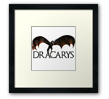 Dracarys - Daenerys Targaryen's Dragon Framed Print