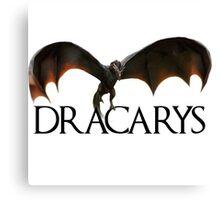 Dracarys - Daenerys Targaryen's Dragon Canvas Print