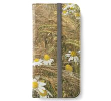 Yellow Corn Daisies iPhone Wallet/Case/Skin