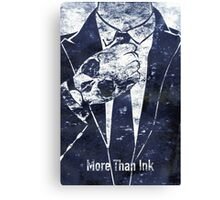 More Than Ink Canvas Print