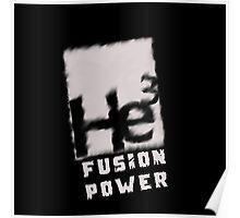 Mars 2030- Helium 3 Fusion Power Poster