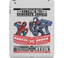 Rumble In The Concrete Jungle iPad Case/Skin