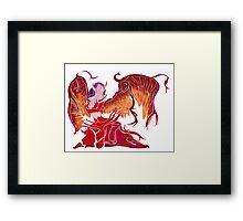 Blackthorn Morgana Framed Print