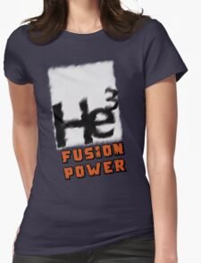 Mars 2030- Helium 3 Fusion Power Womens Fitted T-Shirt