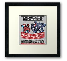 Rumble In The Concrete Jungle Framed Print