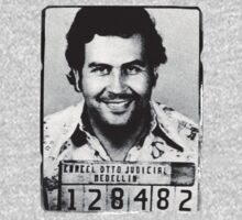 Escobar Mugshot One Piece - Long Sleeve