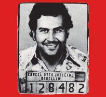 Escobar Mugshot Baby Tee