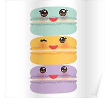 Yummy Macaroons Poster