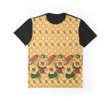 YELLOW POSIES Graphic T-Shirt