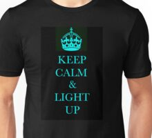 keep clam and light up Unisex T-Shirt